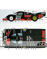 STUDIO 27 PORSCHE 956 #26 SWAP SHOP LE MANS 1984 DECAL for TAMIYA 1/24