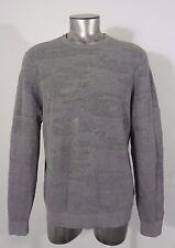 Volcom men's sweater gray L new