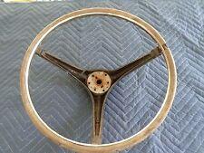 67 68 Mustang Cougar Original Wood Grain Steering Wheel Shelby GT 428 390