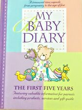 My Baby Diary: The First Five Years by Christina Forbes (Hardback, 2008)