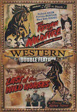 Western Double Feature: Return of Wild Fire/Last of the Wild Horses - New DVD