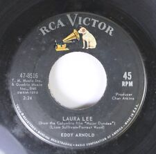 Country 45 Eddy Arnold - Laura Lee / What'S He Doing In My World On Rca Victor