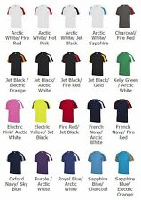 Men's  Just Cool Contrast T-Shirt Wicking Sports Gym Fitness Running T Shirts