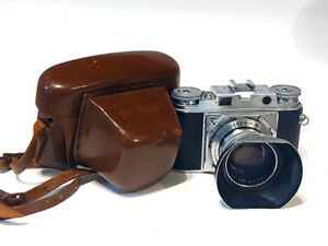 Voigtlander Prominent Mk1 Rangefinder 35mm Film Camera W/ Nokton 50mm f/1.5 Lens