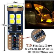 10-pack T10- Error free LED bulb Interior Dome Map License Plate - Warm White