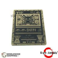 Carte Pokemon Mew Antique Ancient / Metal Black Gold Card GX EX Fan Made Custom