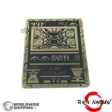 Carte Pokemon Mew Antique Ancient / Metal Black Gold Card GX EX Fan Made Custom