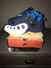 1999 NIKE AIR ZOOM GP ONE Glove 830110 411 Midnight Navy Sz 12 Gary Payton OG
