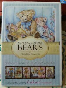 Christine Haworth Meadow Cottage Bears Cd-rom DVD New Sealed