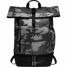 NWT Nike Sport CAMO BACKPACK Travel Gym School Bag ANTHRACITE  BA55756-036  $85