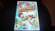WII GAME. PITFALL THE BIG ADVENTURE. (TESTED)