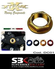 Lenkkopfmutter,EXTREME, Yamaha R6 RJ03 RJ05 RJ09 RJ095 RJ11 RJ15 RJ155,Gold DC01