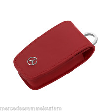 "Mercedes Benz Original Etui porte-clés Gen. 6 ""Cuir Rouge"""