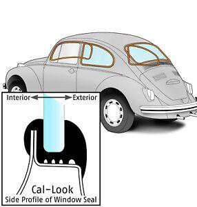 1965-1971 Volkswagen Beetle Sedan Cal-Look Window Seal 4 Piece Kit 331264