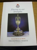 1992/1993 The Football League: Playing To Our Strengths, Annual Review Of The 19