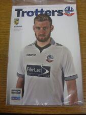 03/08/2014 Bolton Wanderers v Vitesse [amigable] (aún en envoltura de plástico original