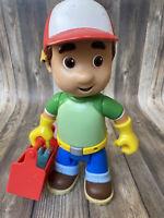 Disney Handy Manny Lets Go to Work Talking Doll Toy wTool Box & 1 Tool Mattel