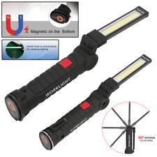 Led + Cob Recarregável Tocha Magnético Flexível Lâmpada De Inspeção Luz de trabalho sem fio