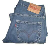 Mens Levi's Strauss & Co. 907 Blue Bootcut Denim Jeans W34 L34