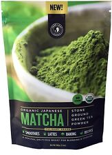 Organic Japanese Matcha Green Culinary Grade Tea Powder, 100 gram pouch