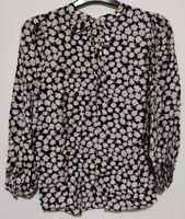 Mint Velvet - UK Size 16 - long sleeve floral print blouse - RRP £75