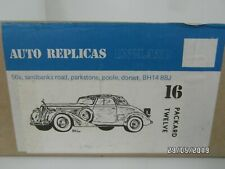 Packard 12  1937  Auto Replicar  Whiet Metal 1:43