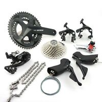 Shimano 105 R7000 2 x 11 speed 52-36T Road Bike Bicycle Groupset Build kit