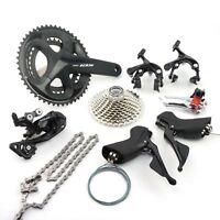 Shimano 105 R7000 2 x 11 speed 50-34T Road Bike Bicycle Groupset Build kit