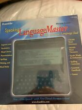 Franklin Language Master Lm-6000b Speaking Dictionary Thesaurus Grammar Nib New
