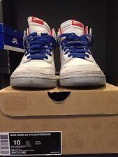 Used Men's NIKE DUNK HI NYLON PREMIUM SZ 10
