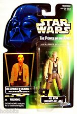 Star Wars - POTF - Luke Skywalker in Ceremonial Outfit - Green Card - New - MOC