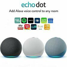 Amazon Echo Dot 4th Gen Smart Speaker with Alexa Blue, White, Black UK Stock !!!