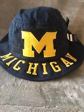 University Of Michigan Wolverines Bucket Hat Size L/XL