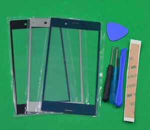 """For Sony XPERIA XZ F8331 F8332 5.2""""  Front Outer Glass Lens Screen parts"""
