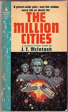 1963/ THE MILLION CITIES / J.T. McIntosh / Pyramid F-898 / Virgil Finlay Cover