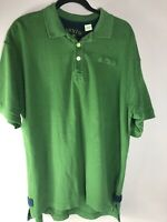 Orvis Mens Signature Polo Shirt Short Sleeved Green Size L