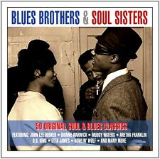 Blues Brothers & Soul Sisters ~ 50 Vintage Original Classics NEW AND SEALED 2CD