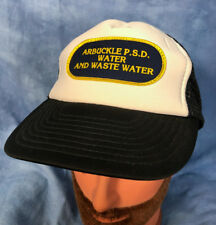 Vtg Trucker Hat Arbuckle Psd Water and Waste West Virginia Business Employee Hat