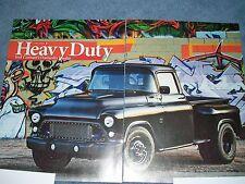 "1957 Chevy 3800 Pickup Custom Built Dually Duramax Diesel Article ""Heavy Duty"""