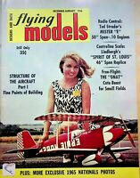 Vtg. Flying Models Magazine Dec/Jan 1966 Lindbergh's Spirit of America m210