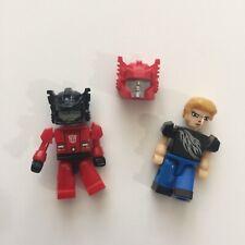 Kre-O Transformers Sideswipe Minifigures and Head