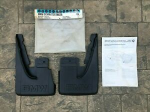 NOS NLA BMW E30 Late Model Rear Mud Flap x2 1988-1991 325i 325is 325e 318i