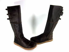 KICKERS WMN OLIBOTTE BOOT BROWN MSMTCHED EUR SZ LEFT 40(US 8.5)/RIGHT 41 (US 9)