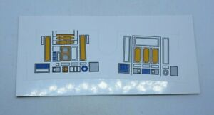 R2-D2 Yellow/Orange  Replacement  STICKER  Perfect!!!! For Vintage R2