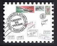 MiNr. 400  - 411 als Markenheft  ... Franz. Geb. i. d. Antarktis .. Postfrisch
