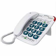 BT Big Button 200 Version2 Corded Phone Ideal for Shortsighted and Elderly
