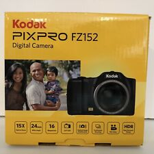 Kodak PIXPRO FZ152 CCD Compact Digital Camera - Black | Brand New