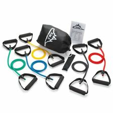 Black Mountain Products Resistance Band Set (Five Bands Included) W