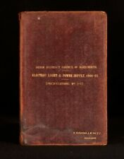 1904-05 Urban District of Handsworth Electric Light and Power Supply Stafford