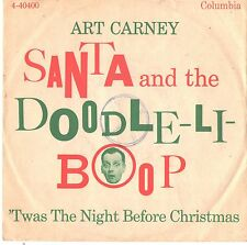ART CARNEY--PICTURE SLEEVE ONLY--(SANTA & THE DOODLE-LI-BOOP)--PS--PIC--SLV